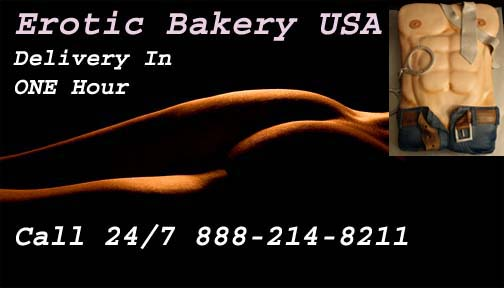 Erotic Cakes Bakery USA X-rated Cakes Adult Cakes Exotic candy exotic cookies