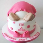New-Orleans-Louisiana-Little-baby-bump-cake